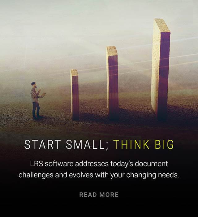 Start small think big